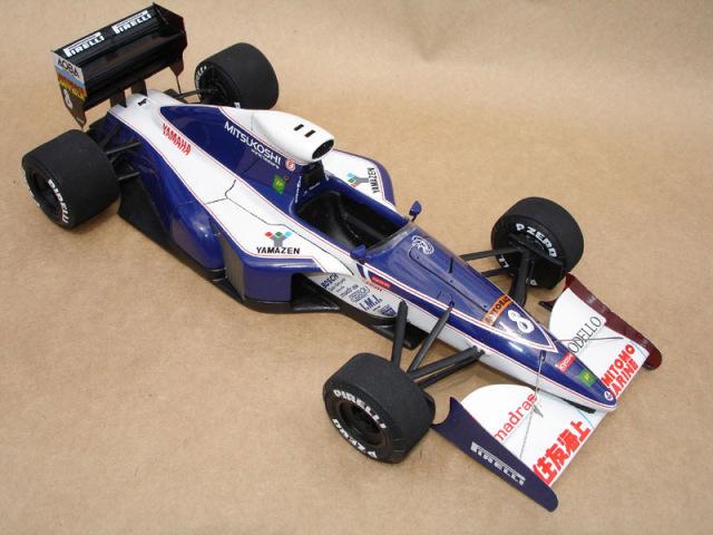 ウルフモデル 1/20 レジンキット ブラバム BT60Y モナコGP 1991 GP20057