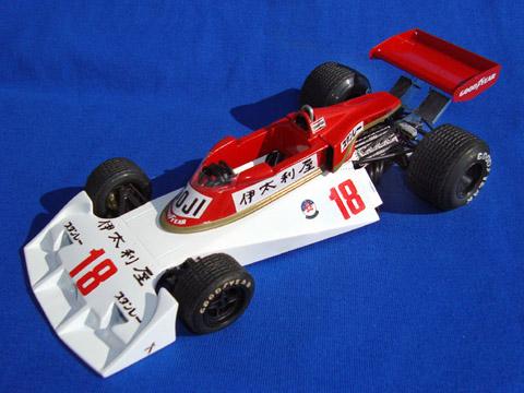 ウルフモデル 1/20 レジンキット サーティス TS19 日本GP 1976 高原敬武 GP20073