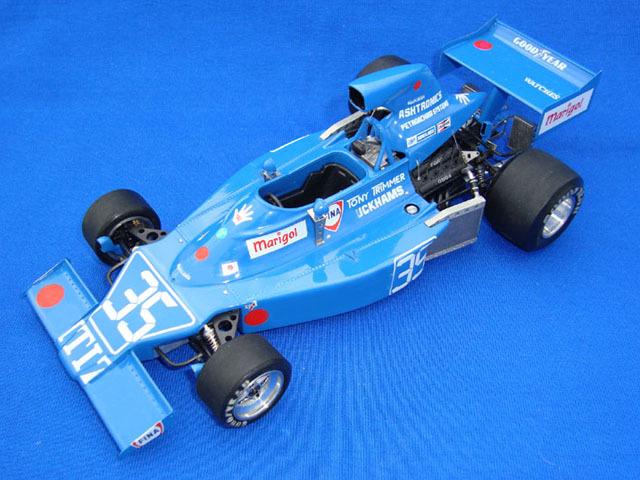 ウルフモデル 1/20 レジンキット マキ F101C 1975 GP20086