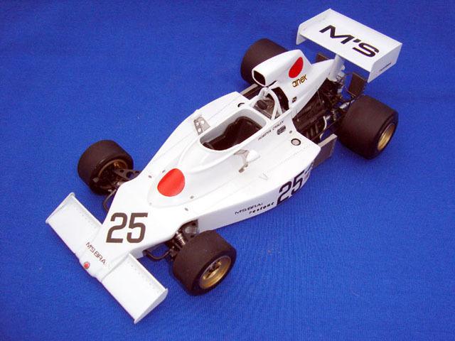 ウルフモデル 1/20 レジンキット マキ F101B 1974 GP20087