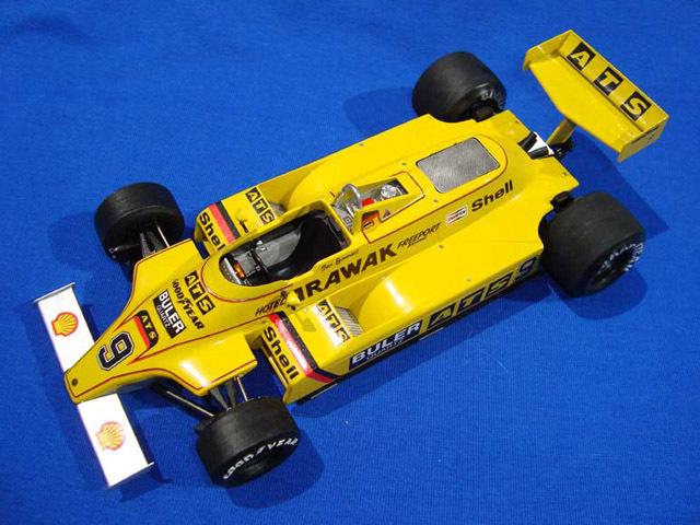 ウルフモデル 1/20 レジンキット ATS D4 1980-1981 GP20089