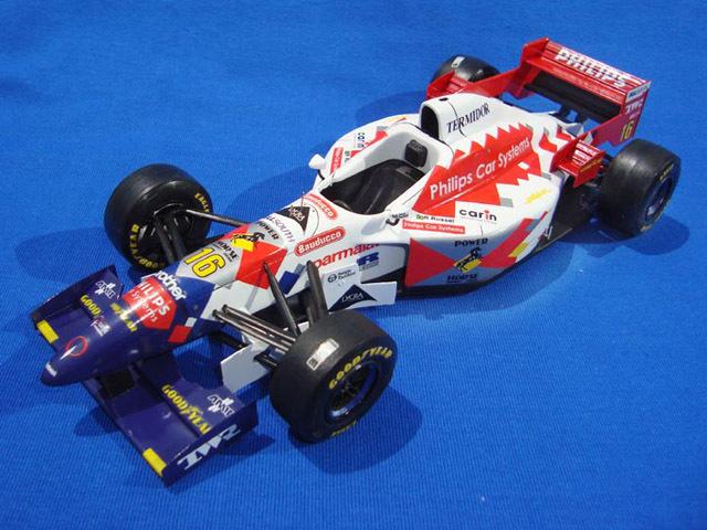 ウルフモデル 1/20 レジンキット フォットワーク FA17 前期型 1996 GP20091