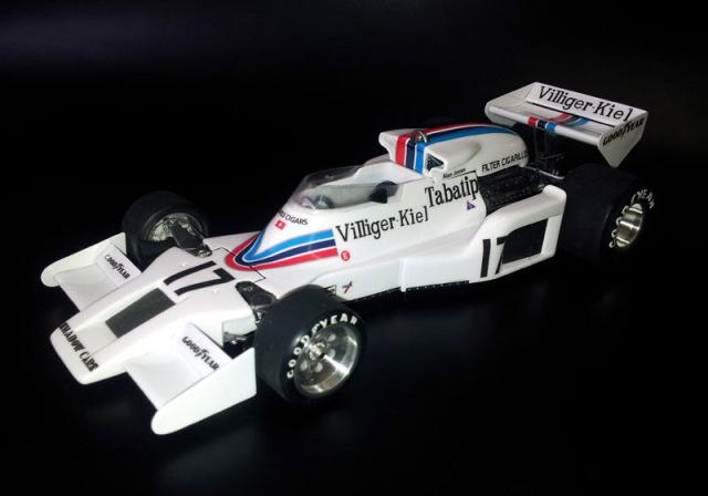 ウルフモデル 1/20 レジンキット シャドー DN8 オーストリアGP 1977 GP20096