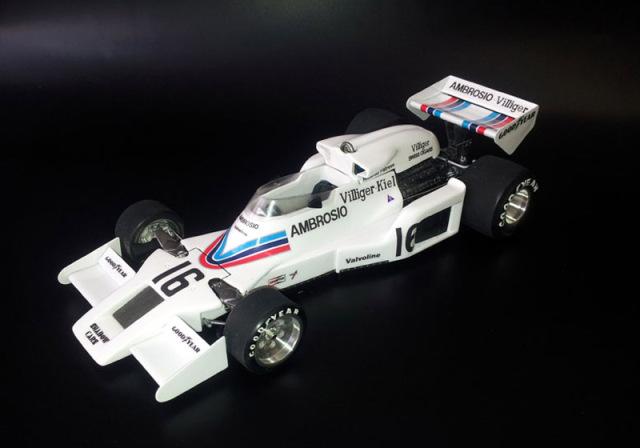 ウルフモデル 1/20 レジンキット シャドー DN8 日本GP 1977 GP20098