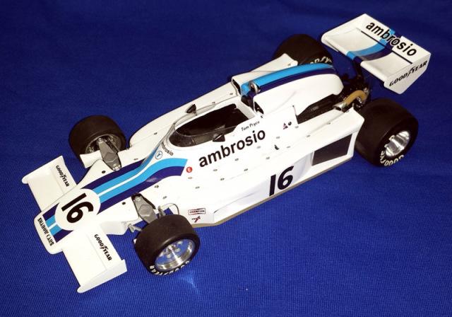 ウルフモデル 1/20 レジンキット シャドー DN8 南アフリカGP 1977 GP20099