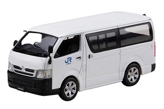ホビージャパン 1/43 トヨタ ハイエース JR西日本 PS019 PS019