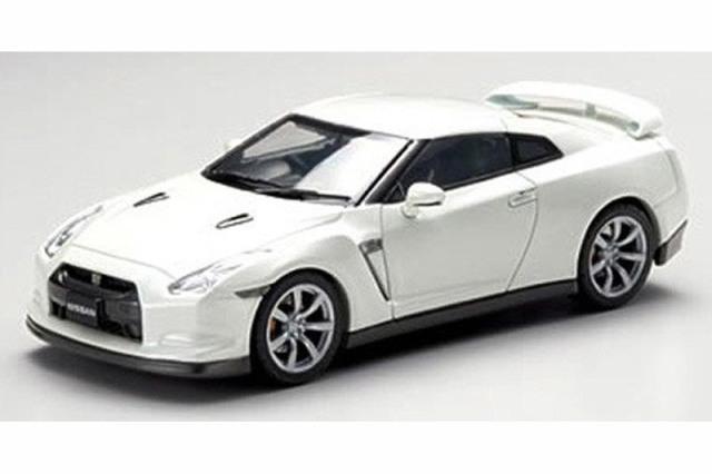 エブロ 1/43 ニッサン GT-R R35 ホワイトパール 44037 44037