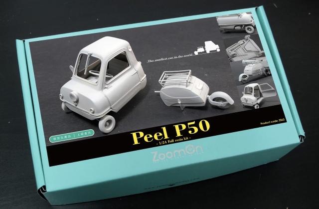 ZoomOn 1/24 レジンキット ピール P50 Z062