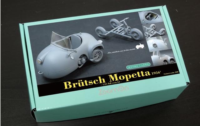 ZoomOn 1/24 レジンキット Brutsch Mopetta 1956 Z088
