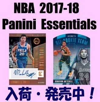 NBA 2017-18 Panini Essentials Basketball Box