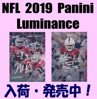 NFL 2019 Panini Luminance Football Box