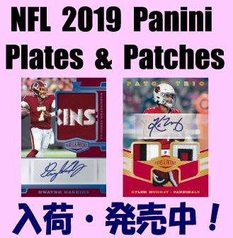 NFL 2019 Panini Plates & Patches Football Box