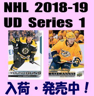 NHL 2018-19 Upper Deck Series 1 Hockey Box