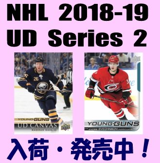 NHL 2018-19 Upper Deck Series 2 Hockey Box