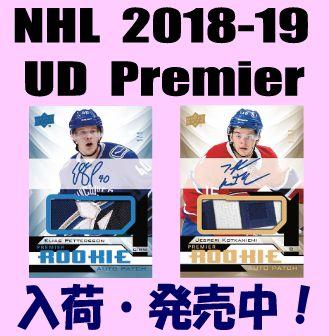 NHL 2018-19 Upper Deck Premier Hockey Box