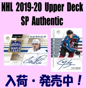 NHL 2019-20 Upper Deck SP Authentic Hockey Box