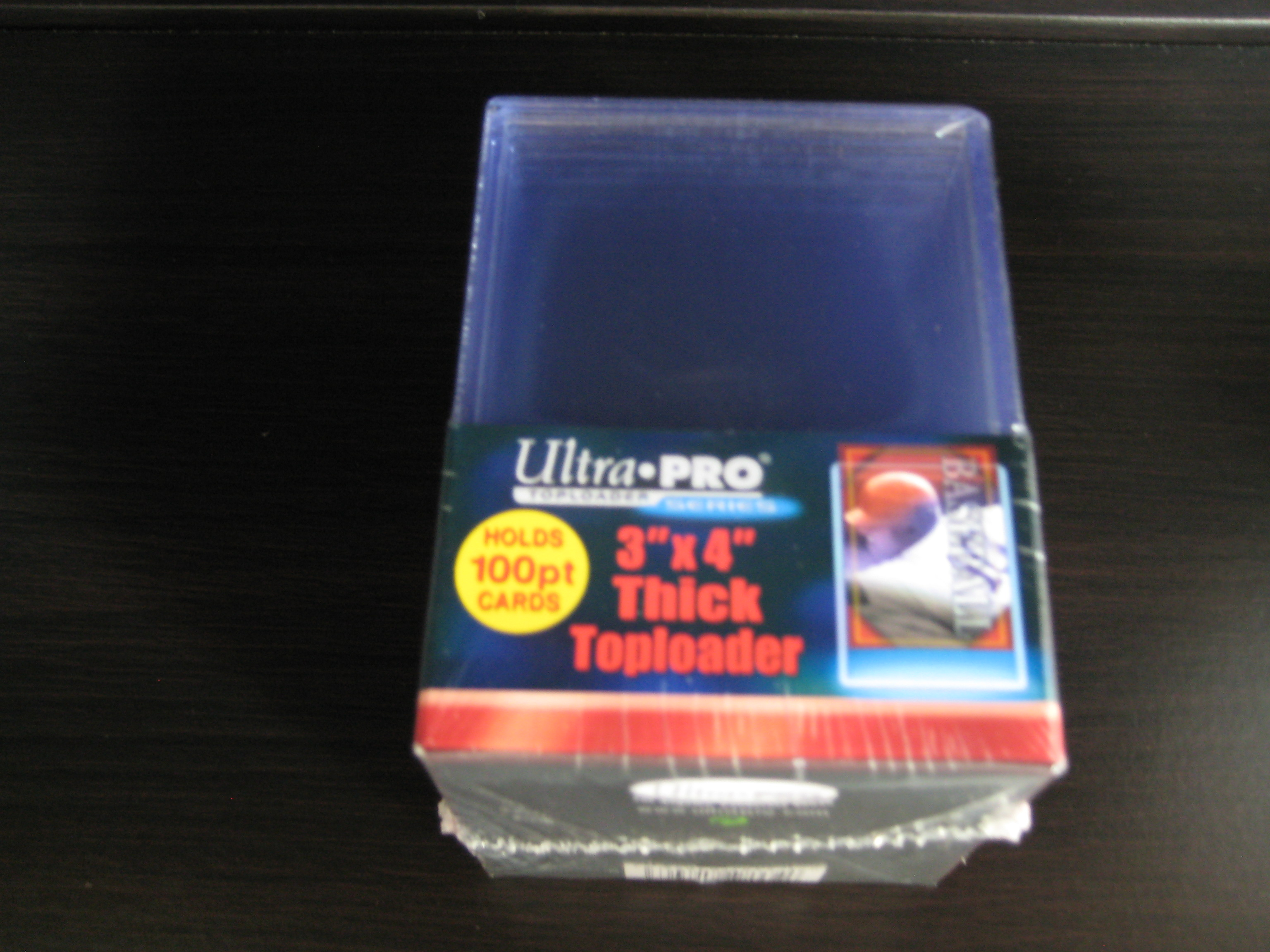 Ultra Pro Top Loader 100 P (3×4 Thick) 25枚入り