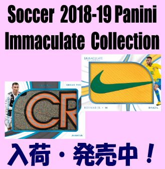 Soccer 2018-19 Panini Immaculate Collection Box