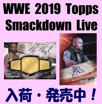 WWE 2019 Topps Smackdown Live Box