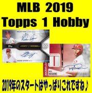 MLB 2019 Topps Series 1 Hobby Baseball Box