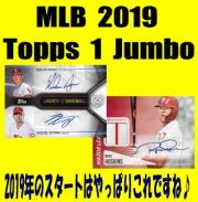 MLB 2019 Topps Series 1 Jumbo Baseball Box