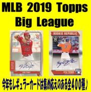 MLB 2019 Topps Big League Baseball Box
