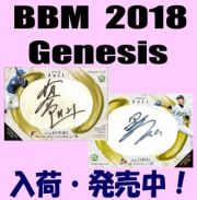 BBM 2018 Genesis ジェネシス Baseball Box