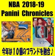 NBA 2018-19 Panini Chronicles Basketball Box