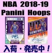 NBA 2018-19 Panini Hoops Basketball Box