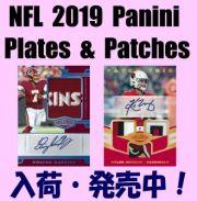 NFL 2019 Panini Plates & Patches Football Box
