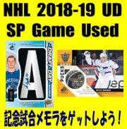 NHL 2018-19 Upper Deck SP Game Used Hockey Box