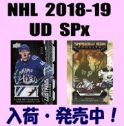 NHL 2018-19 Upper Deck SPx Hockey Box
