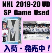 NHL 2019-20 Upper Deck SP Game Used Hockey Box