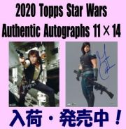 Non-Sports 2020 Topps Star Wars Authentic Autographs 11×14 Box
