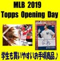 MLB 2019 Topps Opening Day Baseball Box