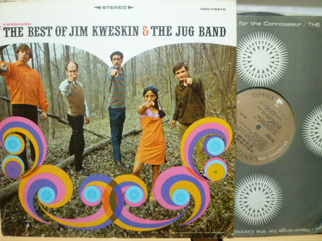 JIM KWESKIN & THE JUG BAND ジム・クウェスキン / The Best Of Jim Kwesin & The Jug Band