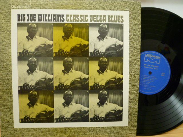 BIG JOE WILLIAMS ビッグ・ジョー・ウィリアムス / Classics Delta Blues
