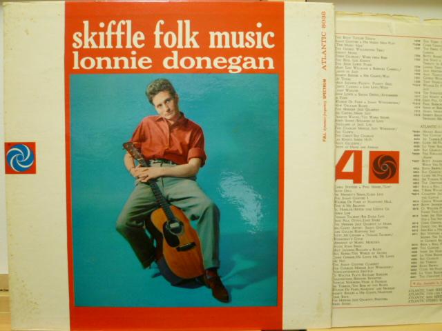 LONNIE DONEGAN ロニー・ドネガン / Skiffle Folk Music
