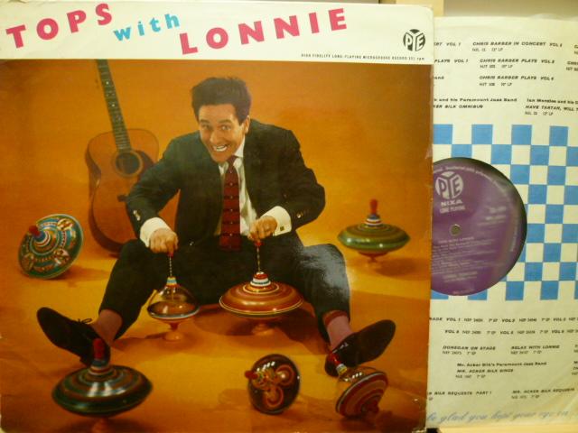 LONNIE DONEGAN ロニー・ドネガン / Tops With Lonnie