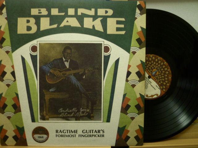 BLIND BLAKE ブラインド・ブレイク / Ragtime Guitar's Foremost Fingerpicker