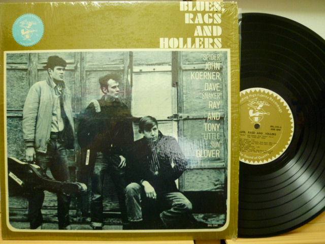 KOERNER, RAY & GLOVER コーナー、レイ&グローヴァ― / Blues, Rags and Hollers