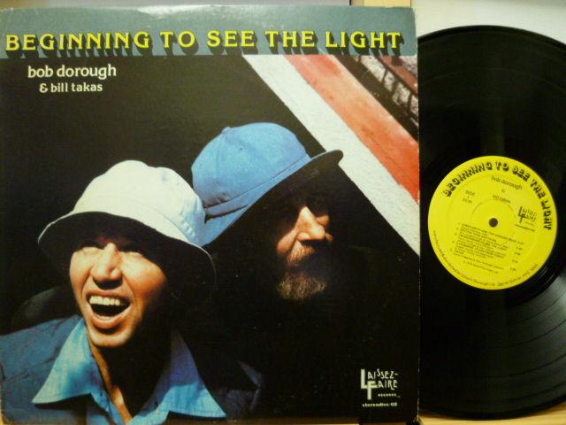 BOB DOROUGH AND BILL TAKAS ボブ・ドロウ / Beginning To See The Light