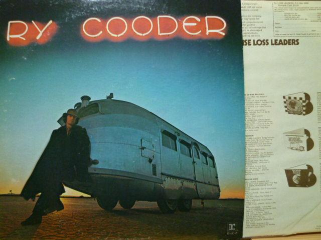 RY COODER ライ・クーダー / Ry Cooder