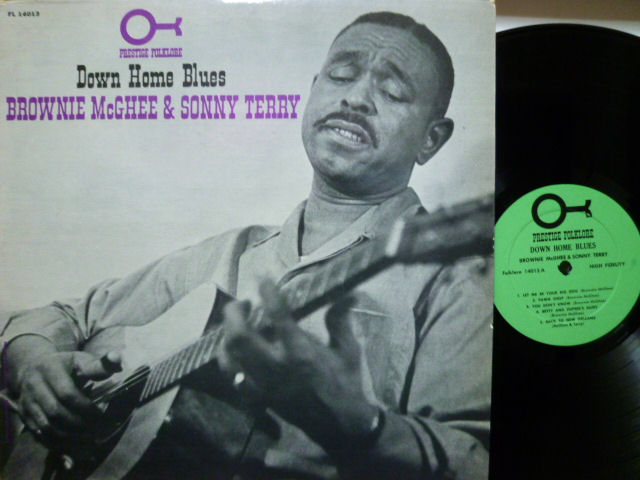 BROWNIE McGHEE & SONNY TERRY ブラウニー・マッギー&サニー・テリー / Down Home Blues