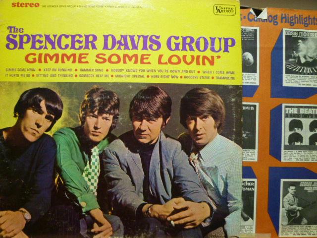 THE SPENCER DAVIS GROUP スペンサー・デイヴィス・グループ / Gimme Some Lovin'