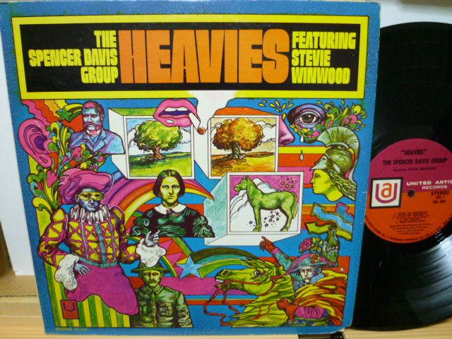 THE SPENCER DAVIS GROUP FEATURING STEVE WINWOOD スペンサー・デイヴィス・グループ / Heavies