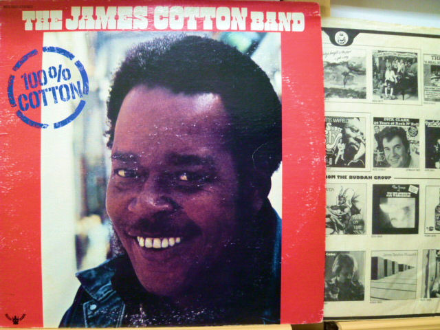 THE JAMES COTTON BAND ジェームス・コットン / 100% Cotton