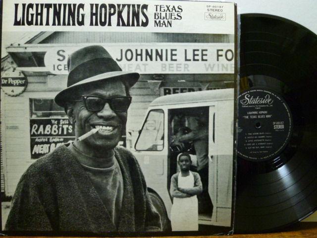 LIGHTNING HOPKINS ライトニン・ホプキンス / テキサス・ブルース・マン