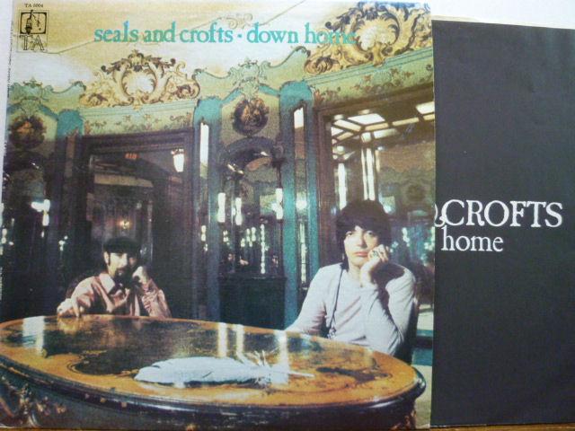 SEALS AND CROFTS シールズ・アンド・クロフツ / Down Home