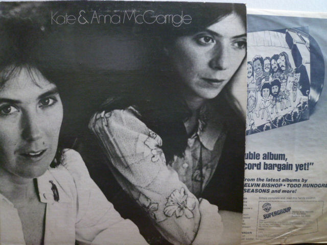 KATE & ANNA McGARRIGLE ケイト&アン・マッギャリグル / Kate & Anna McGarrigle